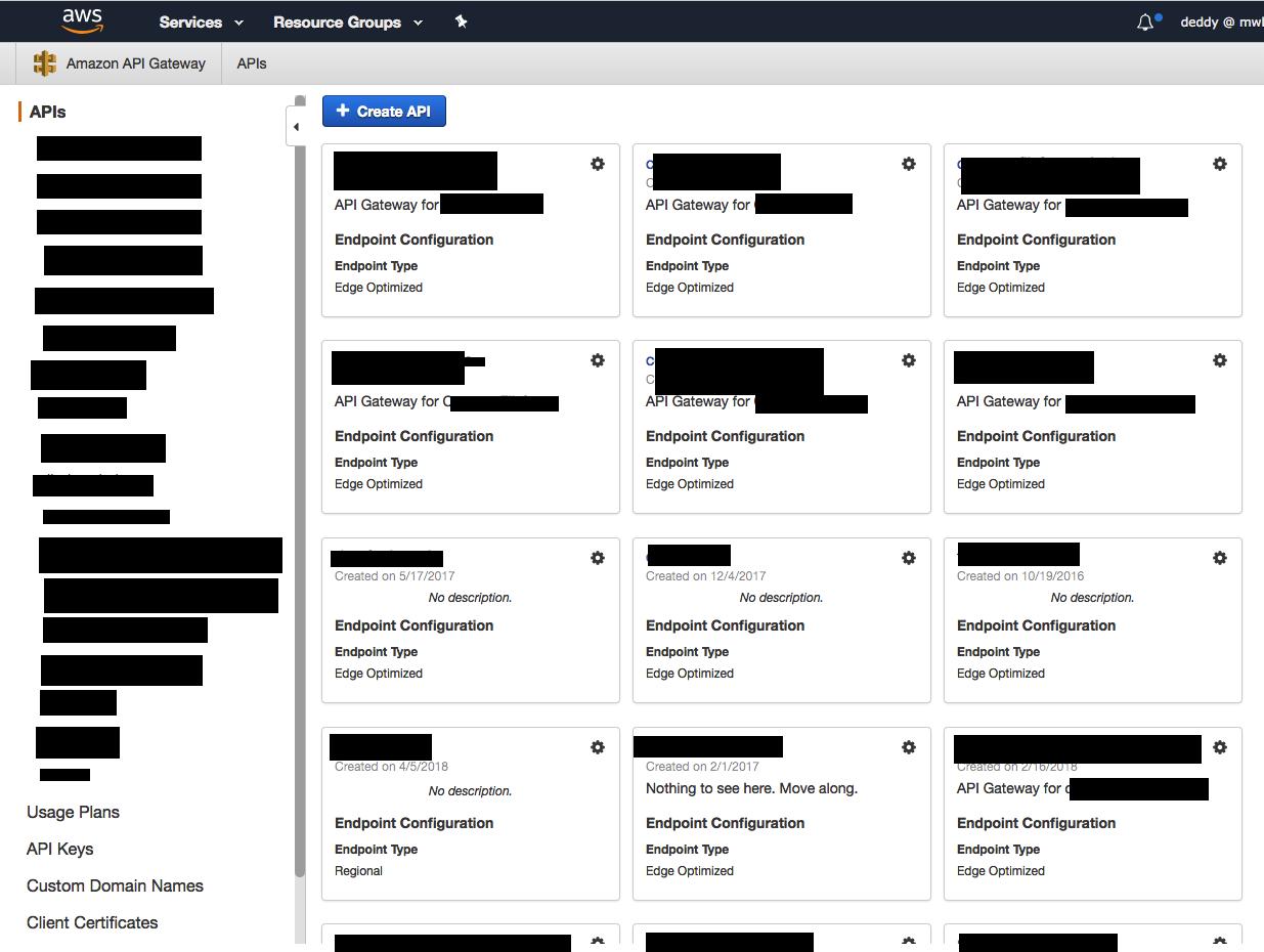Deleting an AWS API Gateway resource  – David J Eddy